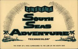 South Seas Adventure - Empire Theatre, Cinerama Postcard