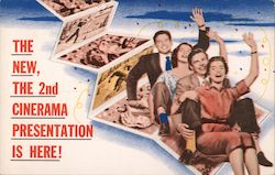 2nd Cinerama Presentation is Here Postcard