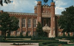 Bizzell Memorial Library, University of Oklahoma Campus Postcard
