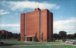 Hall of Advanced Studies, Oklahoma Center for Continuing Education Postcard