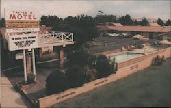 "Triple ""K"" Motel Postcard"