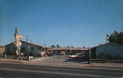 Sands Motel Postcard