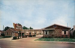 Tower Motel Postcard
