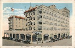 View of Hotel Adams Postcard