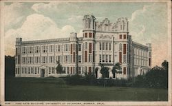 Fine Arts Building, University of Oklahoma Postcard