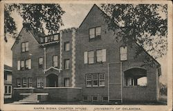 Kappa Sigma Chapter House, University of Oklahoma Postcard