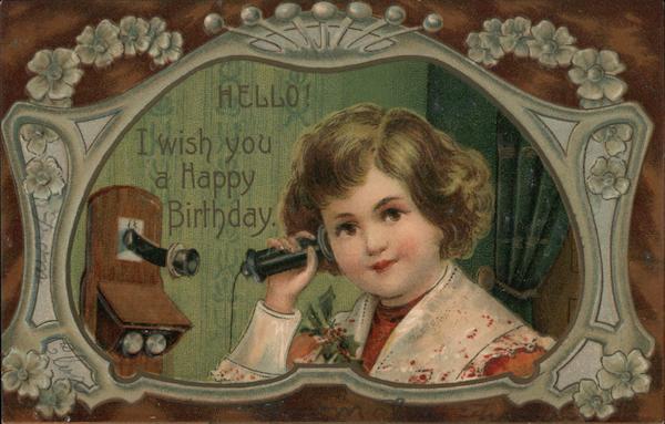 Hello! I Wish You A Happy Birthday.