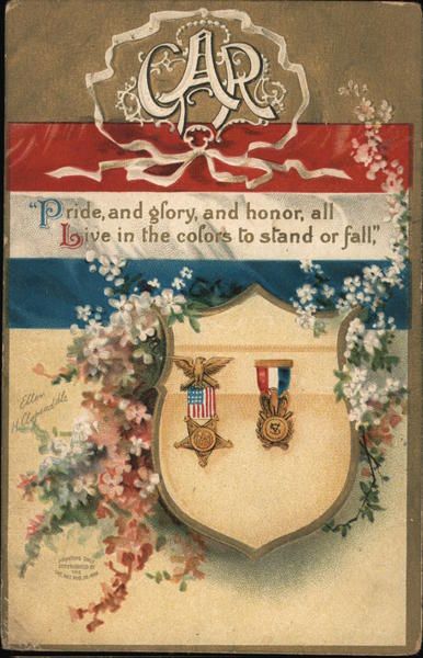 Pride And Glory, Honor, All Live In The Colors To Stand or Fall GAR