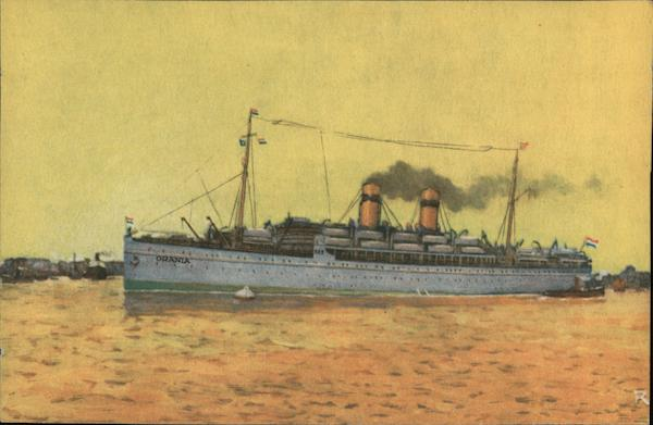 Lloyd Royal Hollandais: SS Orania, Amsterdam Steamers