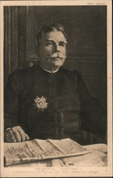 General Joffre, Commander-in-Chief of the French Army Postcard