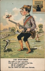 The Sportsman Postcard
