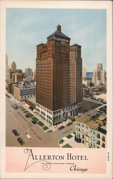 Allerton Hotel Chicago Illinois