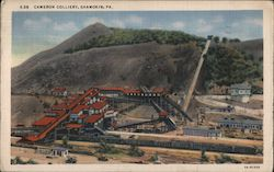Cameron Colliery Postcard