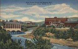 New Power House and Burgess Mill, Androscoggin River