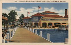 Municipal Recreation Building and Boat Landing