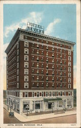 Hotel Severs Postcard