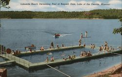 Lakeside Beach Swimming Pool at Bagnell Dam