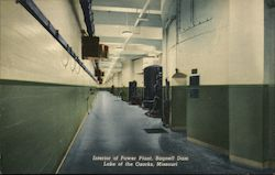 Interior of Power Plant, Bagnell Dam