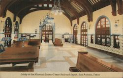 Lobby of the Missouri-Kansas Railroad Depot