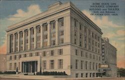 Home State Life Insurance Company Building and Theater Postcard