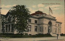 City Library Postcard