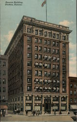 View of Beacon Building Postcard