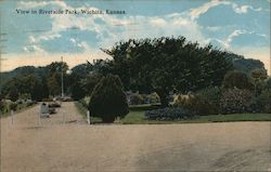 View in Riverside Park Postcard