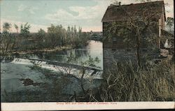 Drury mill and Dam Postcard