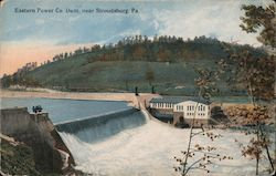 Easter Power Co Dam Postcard