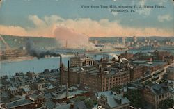 View from Troy Hill, showing H.J. Heinz Plant