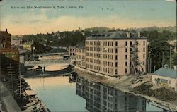 View on The Neshannock Postcard