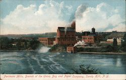 Fenimore Mills, Branch of the Union Bag and Paper Company, Sandy Hill Postcard