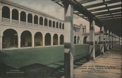 Court and Reading Room, Casa Del Desierto Postcard