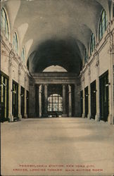 Pennsylvania Station, Arcade, Looking Toward Main Waiting Room