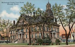 McDonough County Court House Postcard