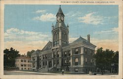Pickaway County Court House Postcard