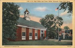 U.S. Post Office and Town Office, Cape Cod