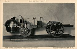 Cugnot Steam Wagon New York Museum of Science and Industry Rockefeller Center, NY