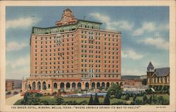 The Baker Hotel Postcard
