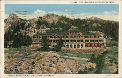 The Lewiston Hotel Postcard