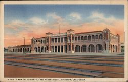 Casa Del Desierto (House of the Desert) Fred Harvey Hotel Postcard