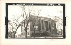 Chautauqua County Court House Postcard