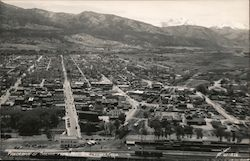 Panorama of Salida from Mt. Tenderfoot Postcard