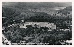 Aerial View of The Greenbrier Postcard