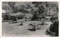 Old White Patio, The Greenbrier Postcard
