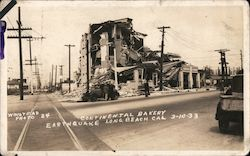 Continental Bakery, Earthquake, 3-10-33