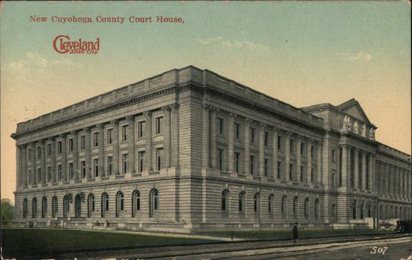 New Cuyohoga County Court House Cleveland Ohio