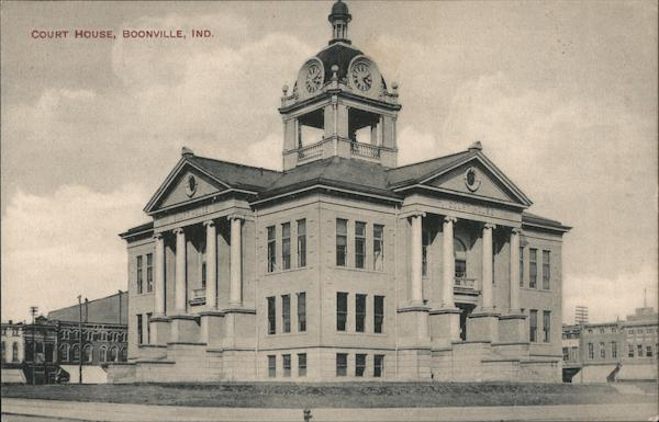 Court House Boonville Indiana