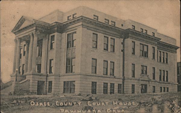 Osage County Court House Pawhuska Oklahoma