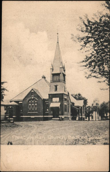 Presbyterian Church Bedford Iowa